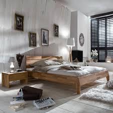 Schlafzimmer Bett 200x200 Finnmark 200x200 In Wildeiche Massiv Geölt
