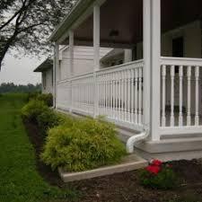 aluminum u0026 vinyl porch railing lancaster u0026 chester pa