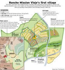 Cal State Fullerton Map Rancho Mission Viejo U0027s First Village Is Sendero Development
