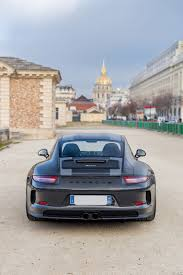 grey porsche 911 unique dark grey porsche 911 r up for grabs in paris