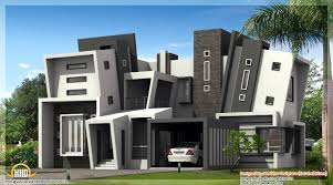 home plan modern style spain house plan kerala home design and floor plans
