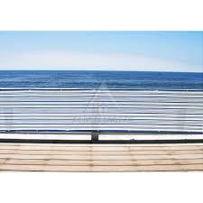 3 u0027 x 16 u0027 standard size mediterranean blue u0026 white patio balcony