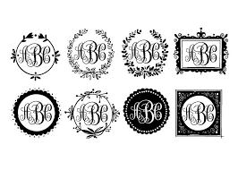 3 letter monogram sale custom monogram shabby chic framed 3 letters you choose