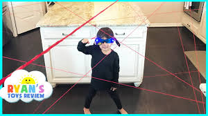 House Family Spy Kid Laser In The House Family Fun Activities Playing Indoor