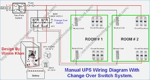 manual changeover switch wiring diagram amalgamagency co
