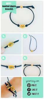 bracelet diy easy images Diy bracelets knotted charm bracelet diy crafts tips jpg