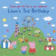 peppa pig birthday party preps for liam s peppa pig birthday party so natty