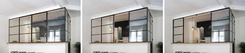 verriere entre cuisine et salle à manger fenetre sur cour architecte 18ème bardin architecte