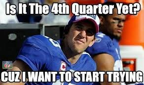 Funny Ny Giants Memes - eli manning logic daily snark