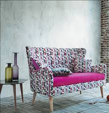 tissus ameublement canapé étourdissant fauteuil tissu moderne décoration française