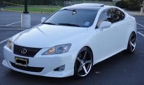 lexus white is250 my crystal white 350 w stance wheels clublexus lexus forum