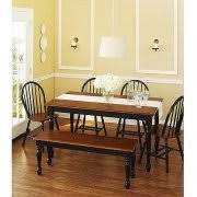 walmart better homes and gardens farmhouse table better homes and gardens autumn lane farmhouse dining table