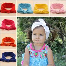 hair bands for babies aliexpress buy fashion rabbit ears bow hair bands baby