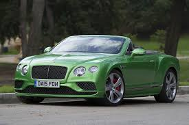 green bentley l a drives glamorous bentley convertible deserves cushy cruise