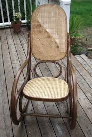 Cane Rocking Chair Antique Cane Furniture Foter