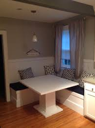 breakfast nook table with bench how to make a custom breakfast seating nook snapguide
