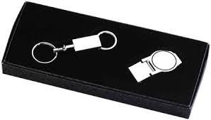 engravable items clip and valet detachable key chain custom engravable items gift