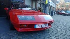 renault alpine a310 engine 1983 renault alpine a310 v6 youtube