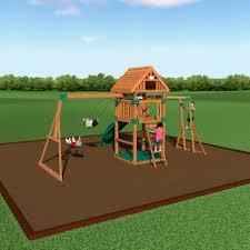 Gorilla Playsets Catalina Wooden Swing Set Backyard Playground Kits Backyard Decorations By Bodog