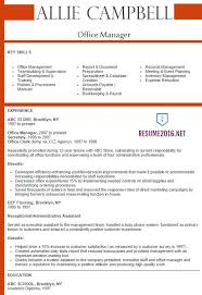 example of resume for applying job resume examples and