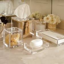 Acrylic Bathroom Accessories by Travertine Bath Accessories Bath Accessories Pinterest Bath
