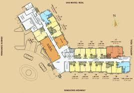 Residences Evelyn Floor Plan by Floor Plan Tropicana Garden City