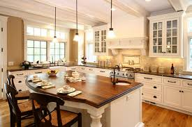 White Kitchen Island With Stools by Furniture Modern Country Kitchen With Rectangle White Kitchen