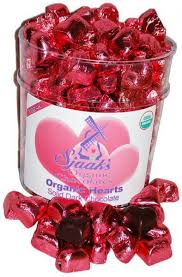 chocolate heart candy vegan s day candies peta