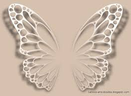 white ink butterfly search tattoos