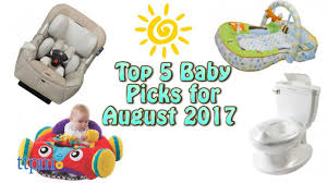 top 5 baby gear in august 2017 youtube