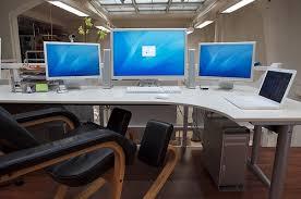 Desk For Dual Monitor Setup Brilliant Desk For Dual Monitor Setup Beautiful Interior Design