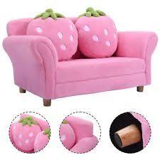 Childs Pink Armchair Kids Sofa Ebay