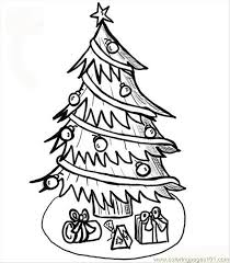 christmas tree coloring coloring free trees coloring