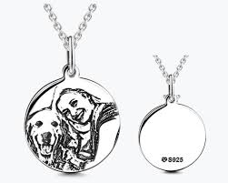 photo engraved necklace best 25 photo engraving ideas on engraved wedding