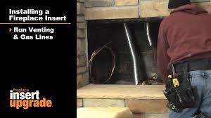 quadra fire fireplace insert installation video youtube