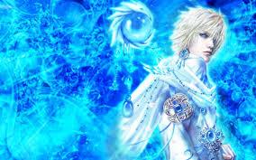 handsome blue wizard wallpaper 14357 wallpaperesque