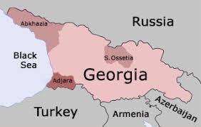 map of abkhazia georgian politics who s who