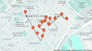 Map Of Barcelona Barcelona Tourist Attractions Guide For Backpacker New Zone