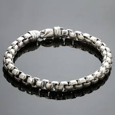 chain link bracelet sterling silver images Pin by vangal jewelry on chain pinterest chains bracelets and box jpg