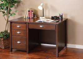 Small Desk Brown Small Writing Desk With Drawers And Compartments