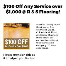 r and s flooring