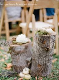 Fall Wedding Aisle Decorations - wedding details megan brooke handmade