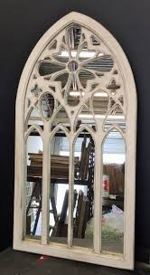 country style mirrors home decor white arched window mirror handmade rustic window mirror wall