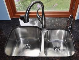 double sinks for kitchens twin bowl kitchen sinks befon for