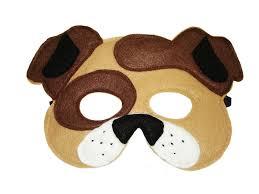 halloween dog mask felt masks collection magical attic