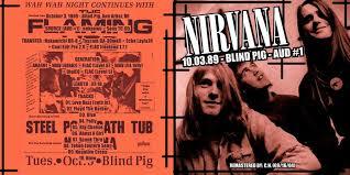 Nirvana Blind Pig Sonicdeath Blog