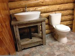 the style and the furniture type for the rustic bathroom vanity