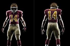 washington redskins breaking down skins u0027 new alternate uniforms