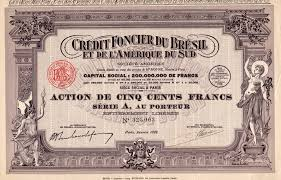 credit foncier siege social titres anciennes francaises bonds and shares from