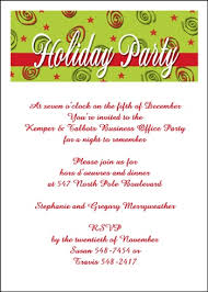 Free Christmas Party Invitation Wording - christmas party invitations wording u2013 gangcraft net